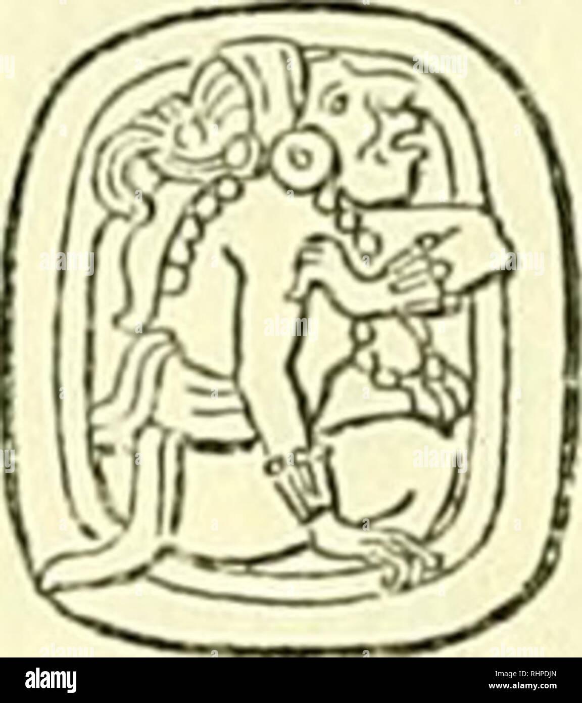 Calendrier Maya Signe.Biologia Centrali Americana Ou Les Contributions A La