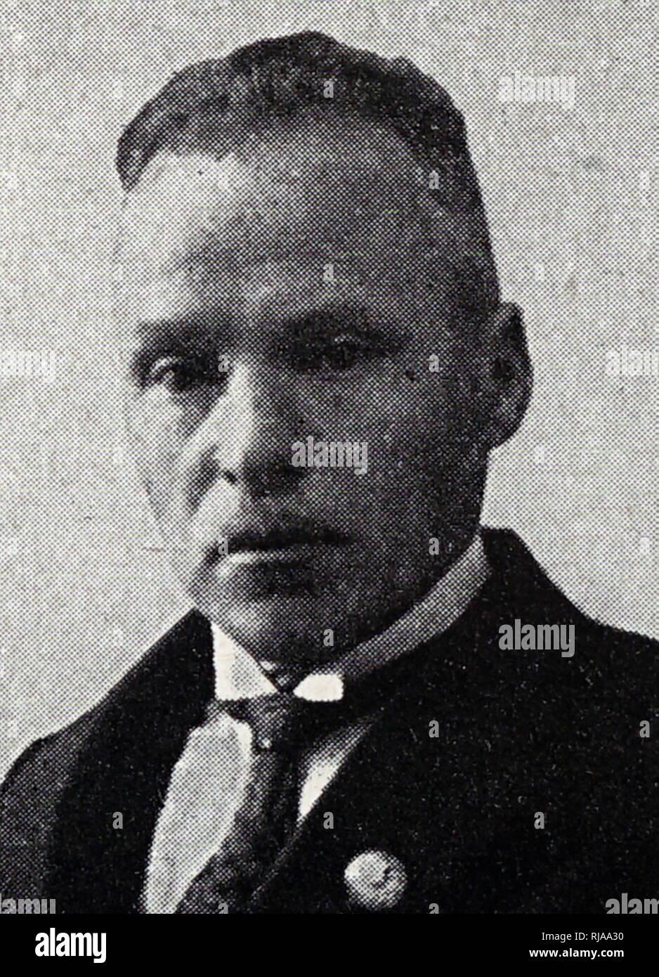 A. kampmann, athlétisme, sports olympiques officiels allemand officiel Nazi à Berlin 1936 Jeux Photo Stock