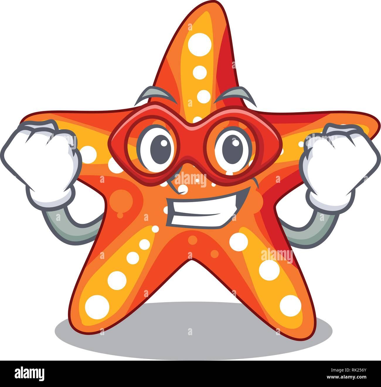 Étoile de super héros dans la caricature drôle de forme Vecteurs Et Illustration, Image ...