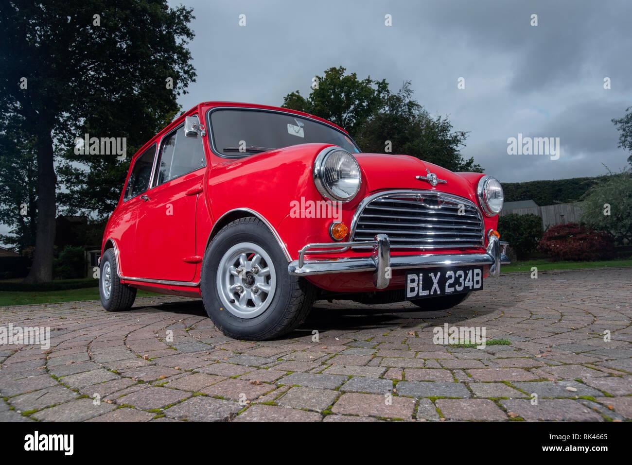 1964 Morris Mini Cooper S voiture classique britannique Photo Stock