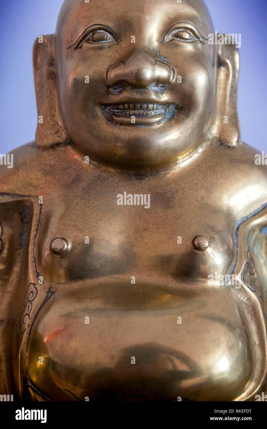 Boudha. Boudha graha est un mot sanskrit qui connote la planète Mercure.Boudha, dans la mythologie hindoue puranique, est également une divinité..Il est également connu sous le nom de Saumya Photo Stock