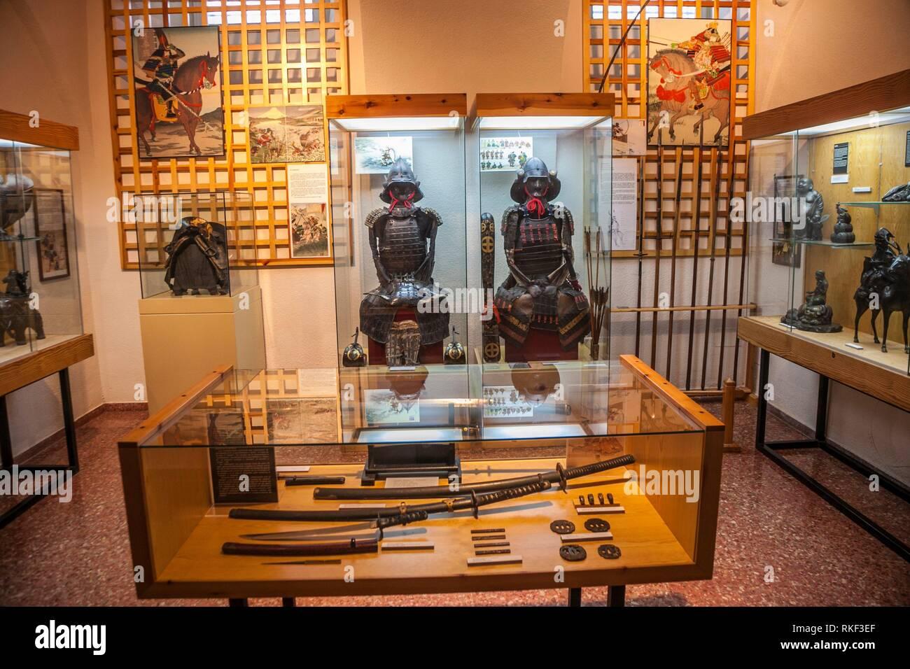Oriental Museum, Agustinos couvent des Philippins, Valladolid, Castille et Leon, Espagne Banque D'Images