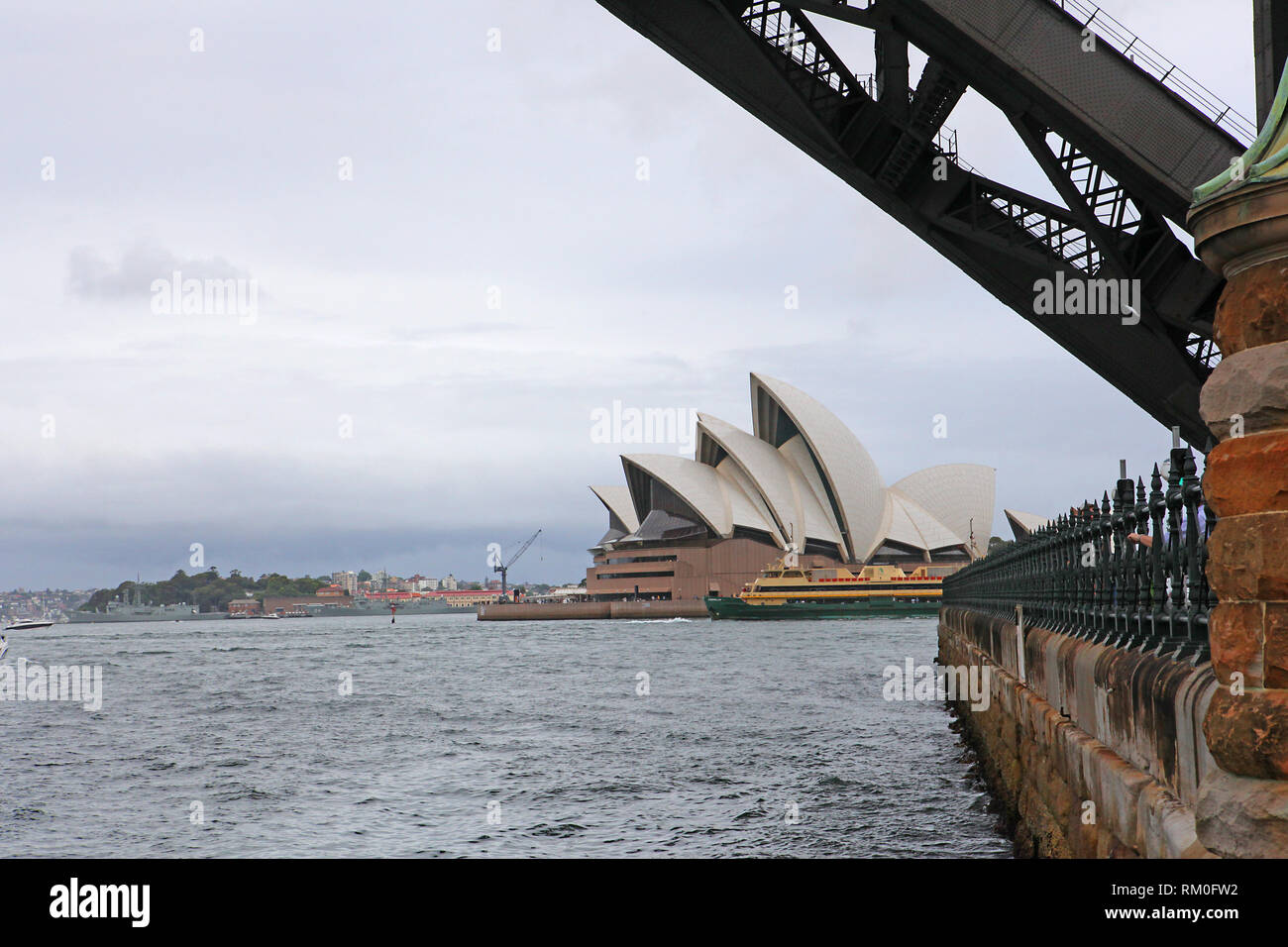 Visiter l'Australie. Les Scenic de l'Australie. Sydney Harbour Bridge Photo Stock