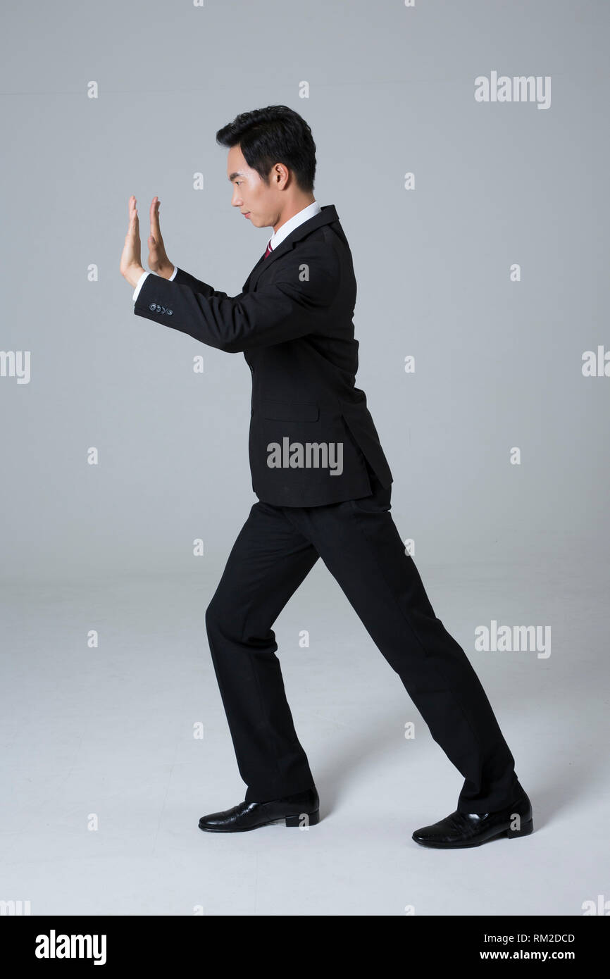 Young businessman concept photo. 063 Photo Stock