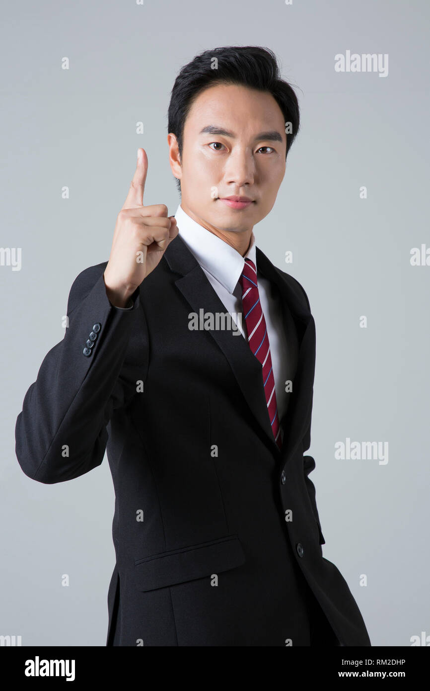Young businessman concept photo. 021 Photo Stock