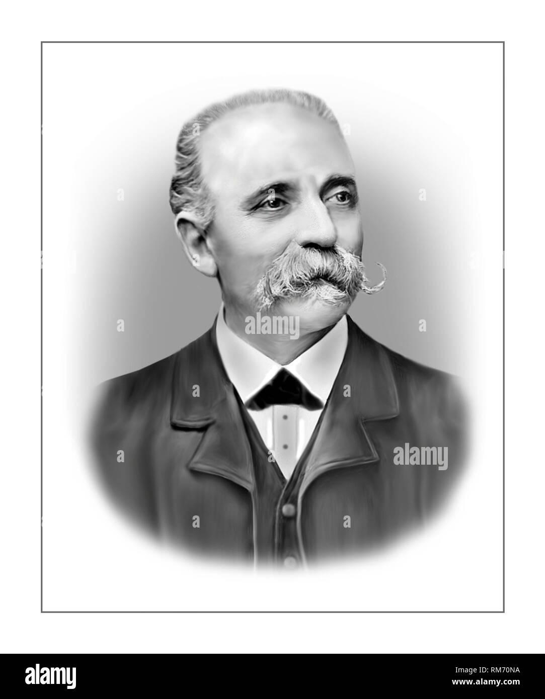 Camillo Golgi 1843-1926 Biologiste italien neuroscientifique pathologiste Photo Stock