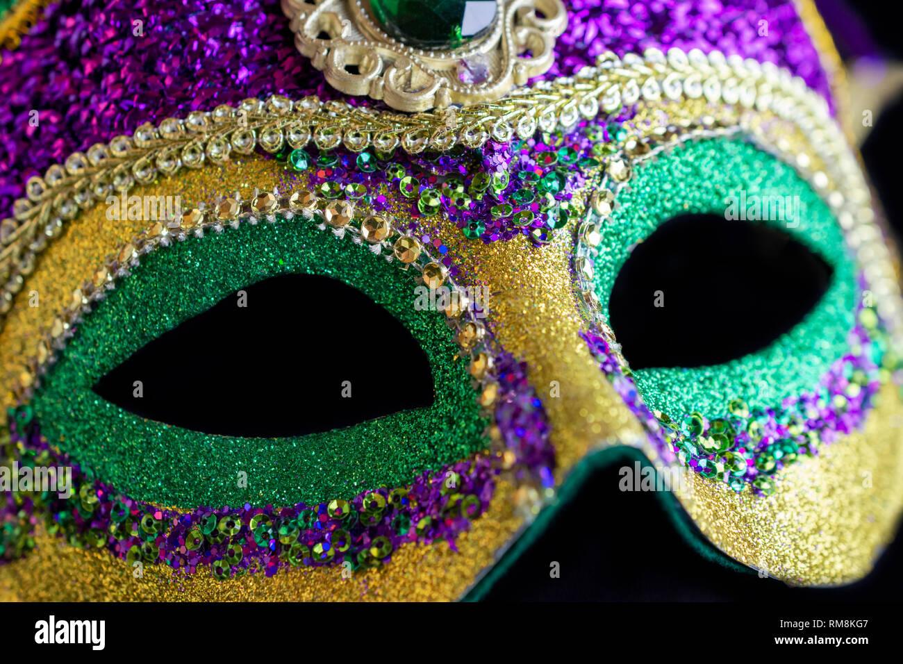 Harlequin Bouffon Masque-Mascarade Déguisement Noir Blanc Femmes Harlequin Eye