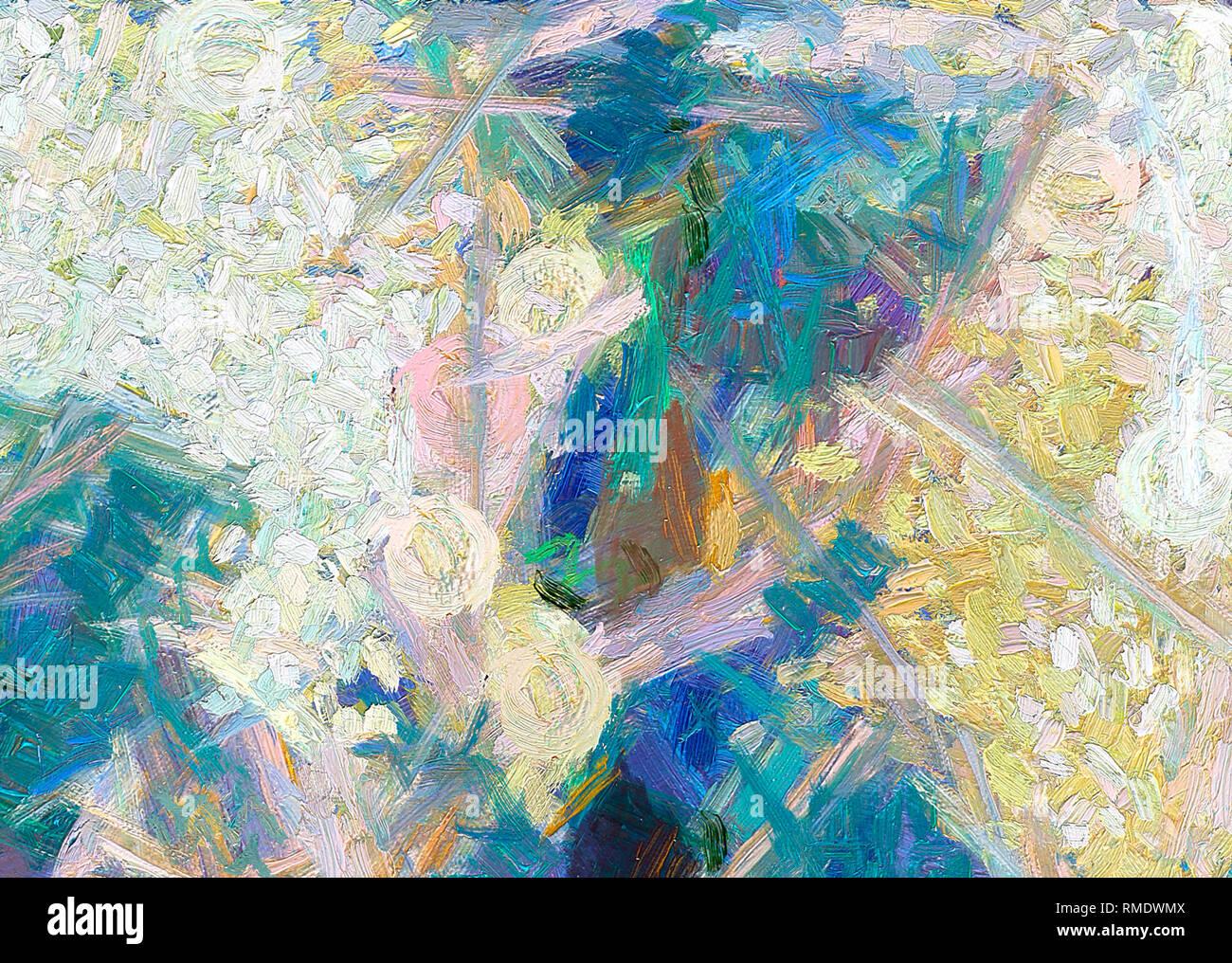 La Peinture Abstraite L Art De Mur Toile Impression De La