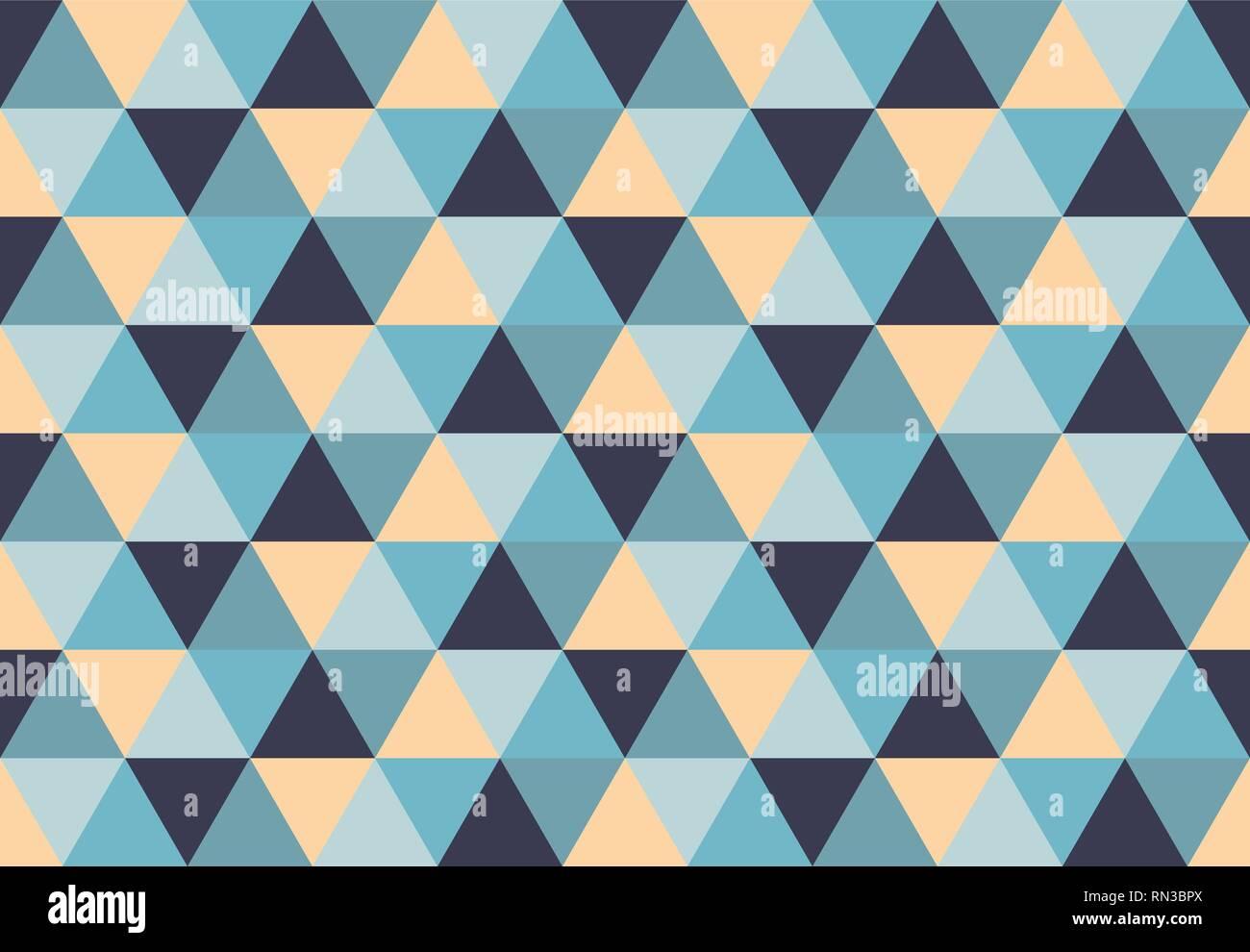 Modèle Logique Triangulaire Low Poly Fond Géométrique