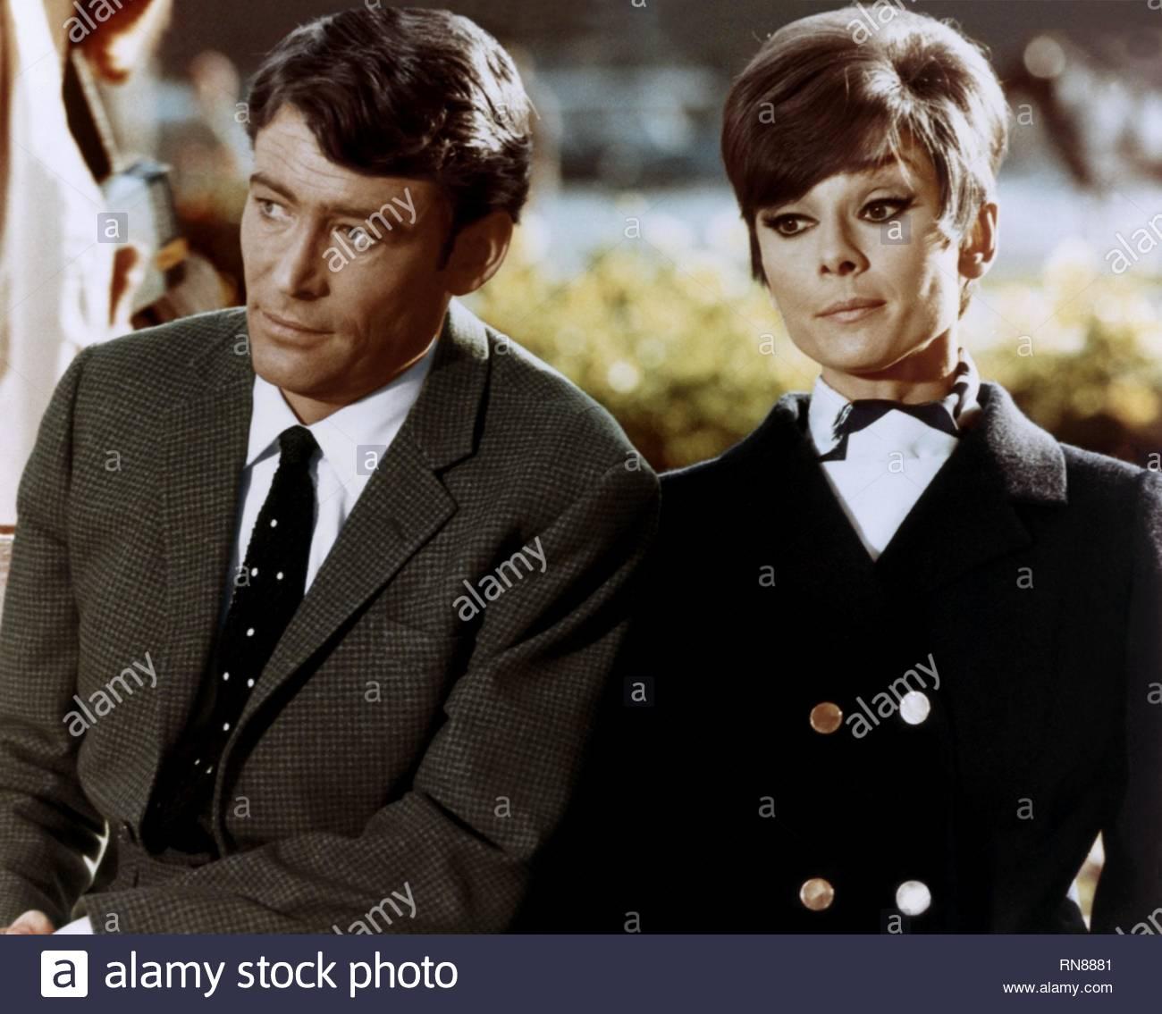 PETER O'TOOLE,Audrey Hepburn, COMMENT VOLER UN MILLION DE DOLLARS, 1966 Photo Stock