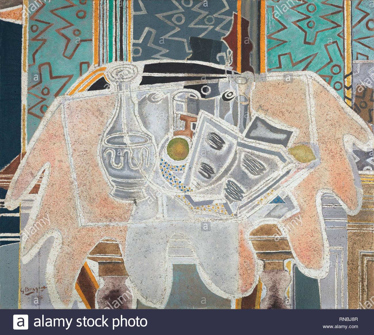 Georges Braque Argenteuil 1882 Paris 1963 La Nappe Rose 1938