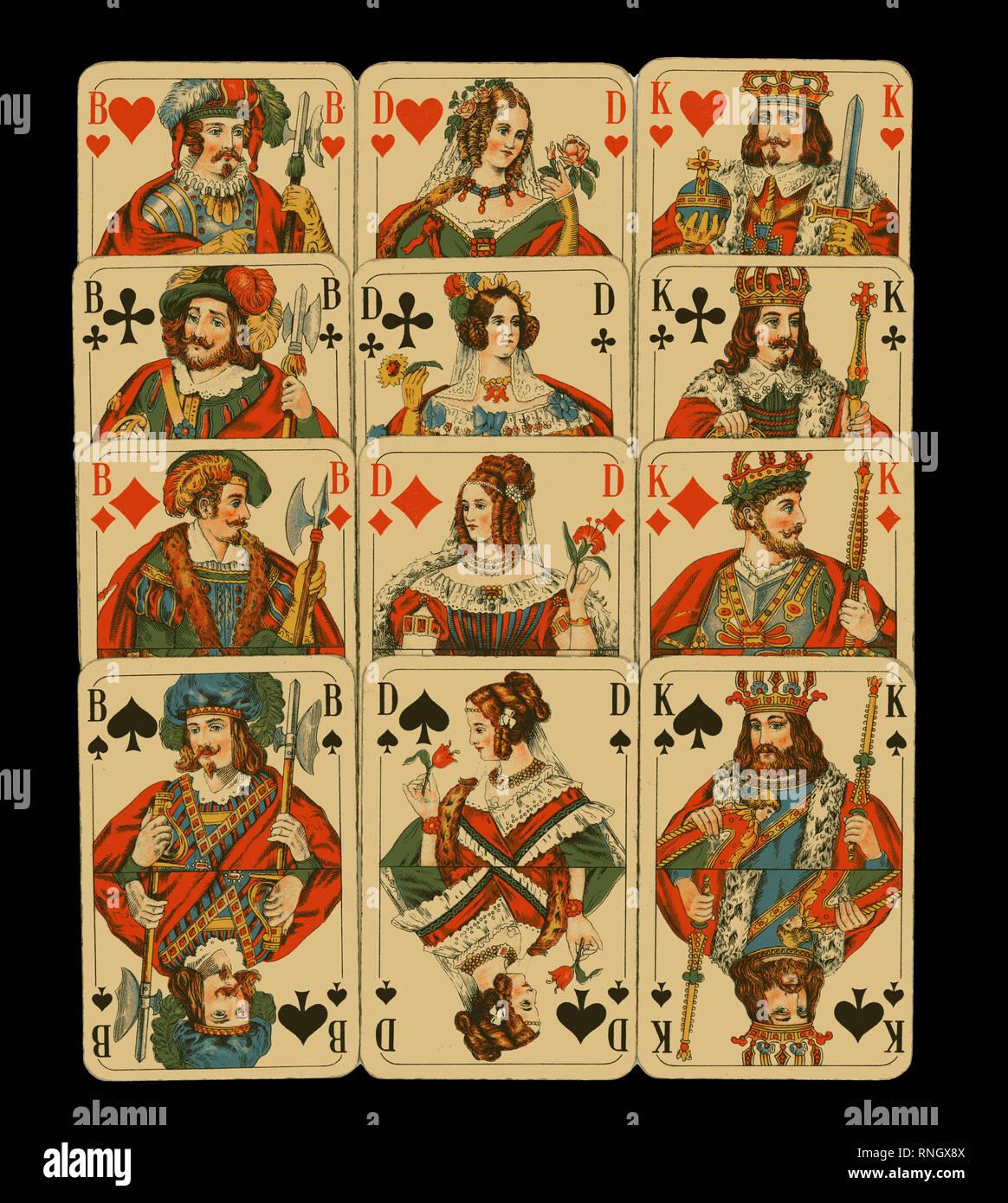 cartes datant