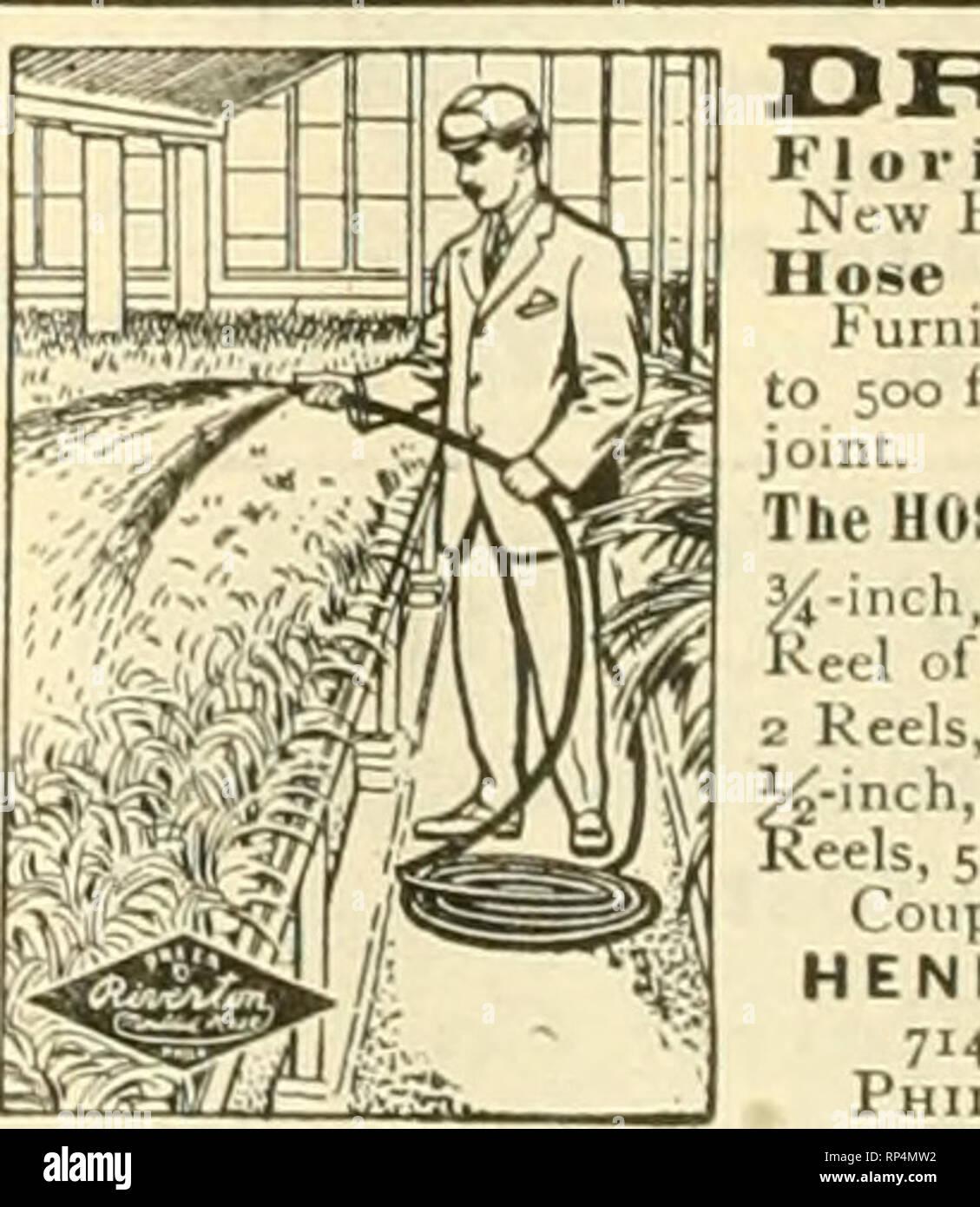 . La fleuriste américain: un journal hebdomadaire pour le commerce. La floriculture; fleuristes. Plus récent standard des pots fleuristes et les gestionnaires des terrains publics Demande de qualité nos pots que excel. C'est dans l'argile. Utilisez nos pots et vous en dire autant. Navire rapide- ment garanti. Juste Prix. Envoyer à: UST. Le Mt.GALAAD. Poterie,mt.Galaad.O. (Successeurs de Smith Thomas.) le Kram Cintres Pot pour la vente en gros par les semenciers. Fleuriste, et les concessionnaires d'approvisionnement, prix. tl.OO par douzaine par express. Douzaine d'échantillon par la poste, tl.25. I. N. KIUUIER Ripidt h FILS, Gidar. m La Construction de serres. Par le Professeur L. Banque D'Images