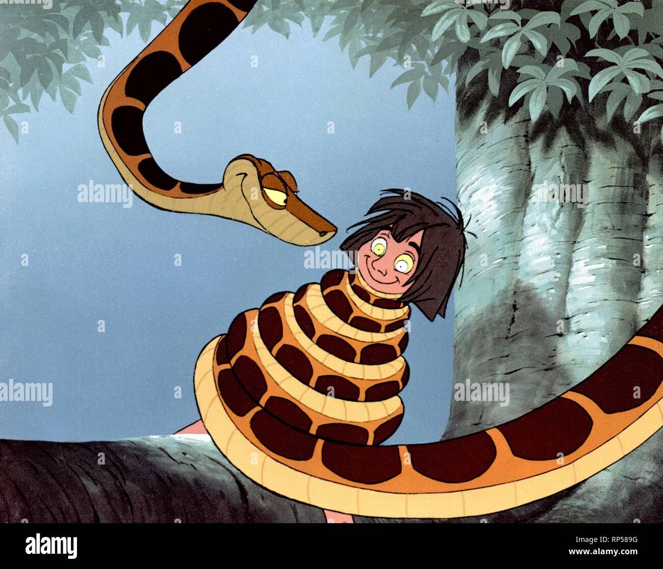 Mowgli Serpent Le Livre De La Jungle 1967 Banque D Images