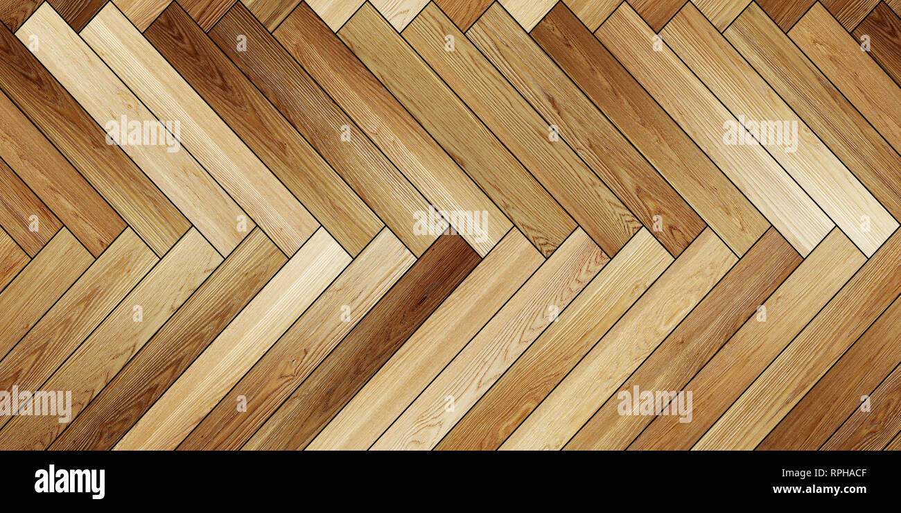 Seamless Texture Bois Brun Clair En Arête Horizontale Banque D