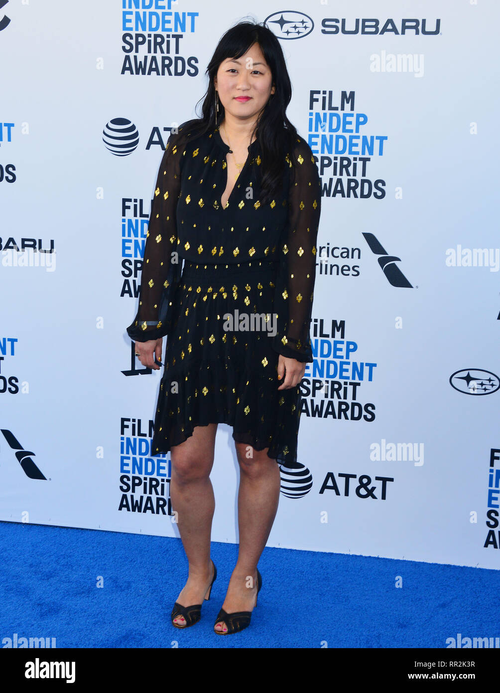 Santa Monica, Californie, USA. Feb 23, 2019. Christina Choe 156 assiste à la Film Independent Spirit Awards 2019 le 23 février 2019 à Santa Monica, en Californie. Credit: Tsuni / USA/Alamy Live News Photo Stock