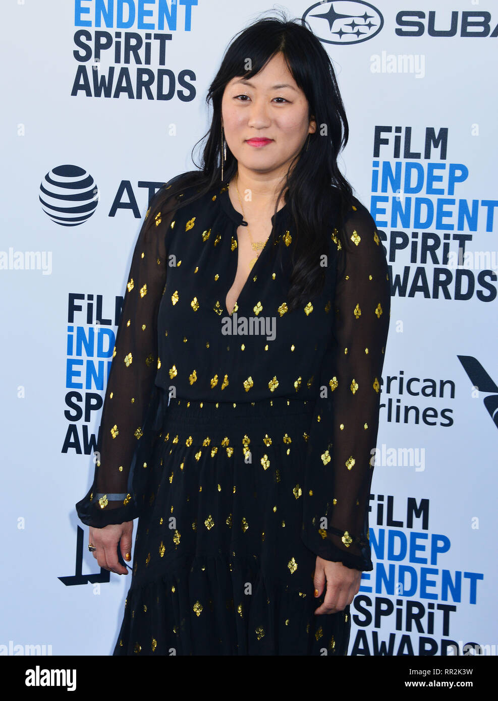 Santa Monica, Californie, USA. Feb 23, 2019. Christina Choe 157 assiste à la Film Independent Spirit Awards 2019 le 23 février 2019 à Santa Monica, en Californie. Credit: Tsuni / USA/Alamy Live News Photo Stock