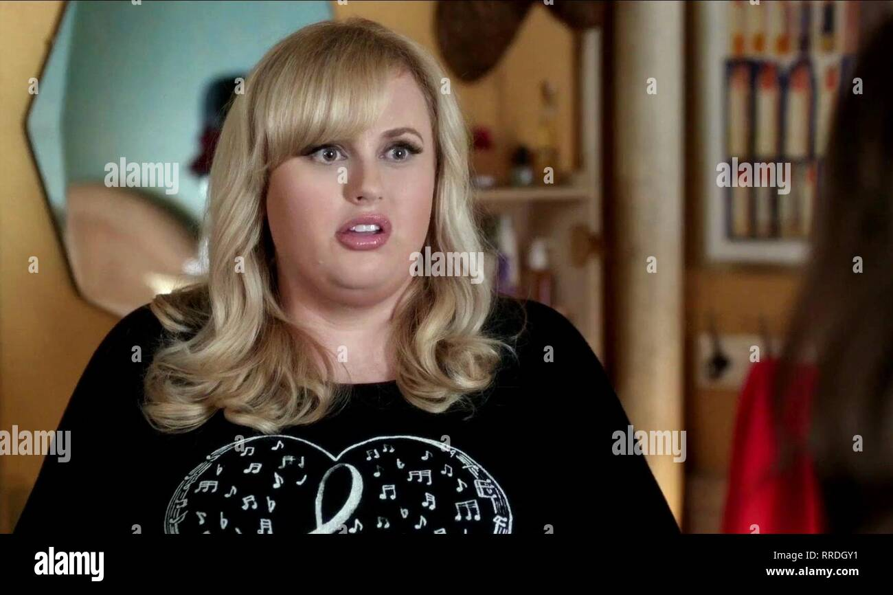 REBEL WILSON, PITCH PERFECT 3, 2017 Banque D'Images
