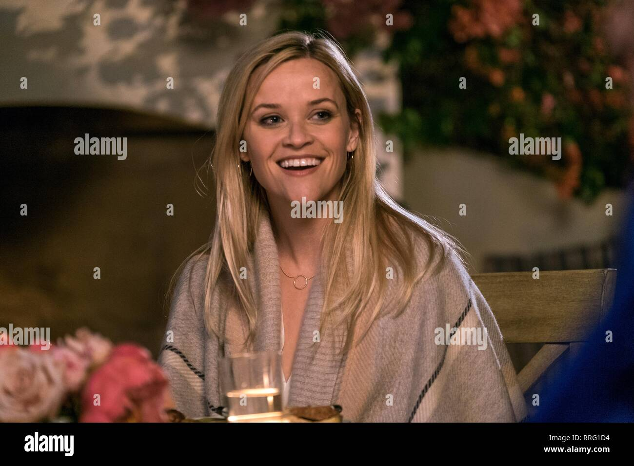 À la maison, Reese Witherspoon, 2017 Photo Stock