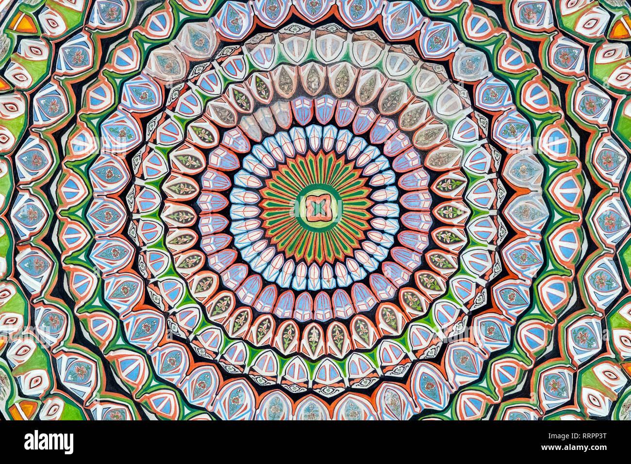 Des motifs géométriques islamique Banque D'Images