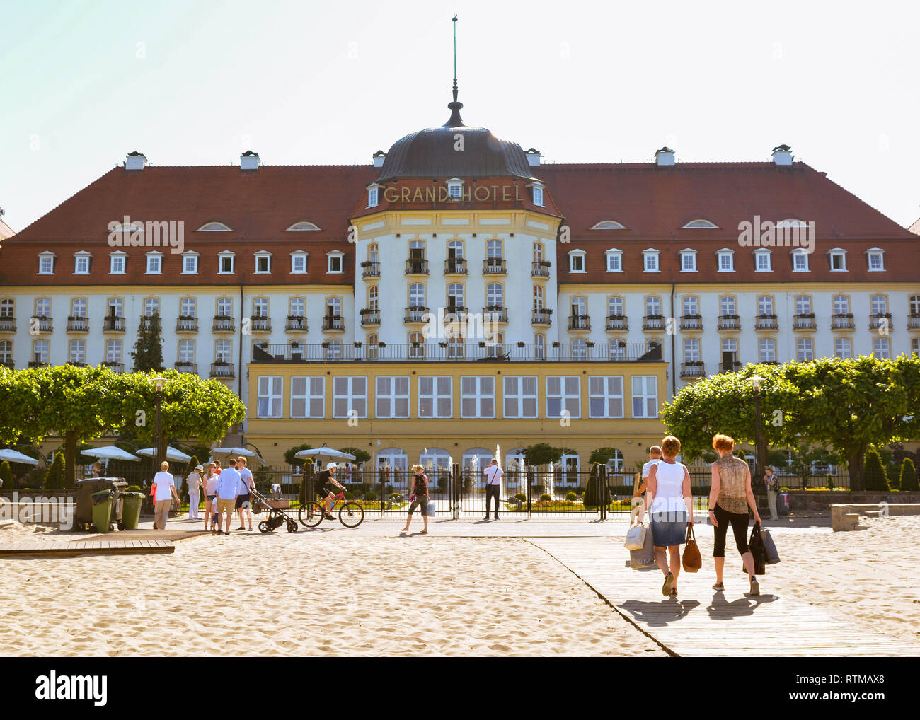 Sofitel Grand Sopot, Pologne, Europe Photo Stock