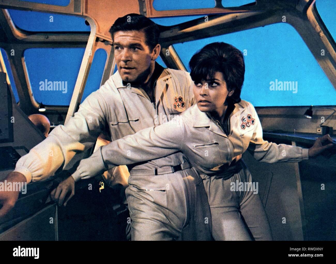 BOYD,WELCH, voyage fantastique, 1966 Photo Stock