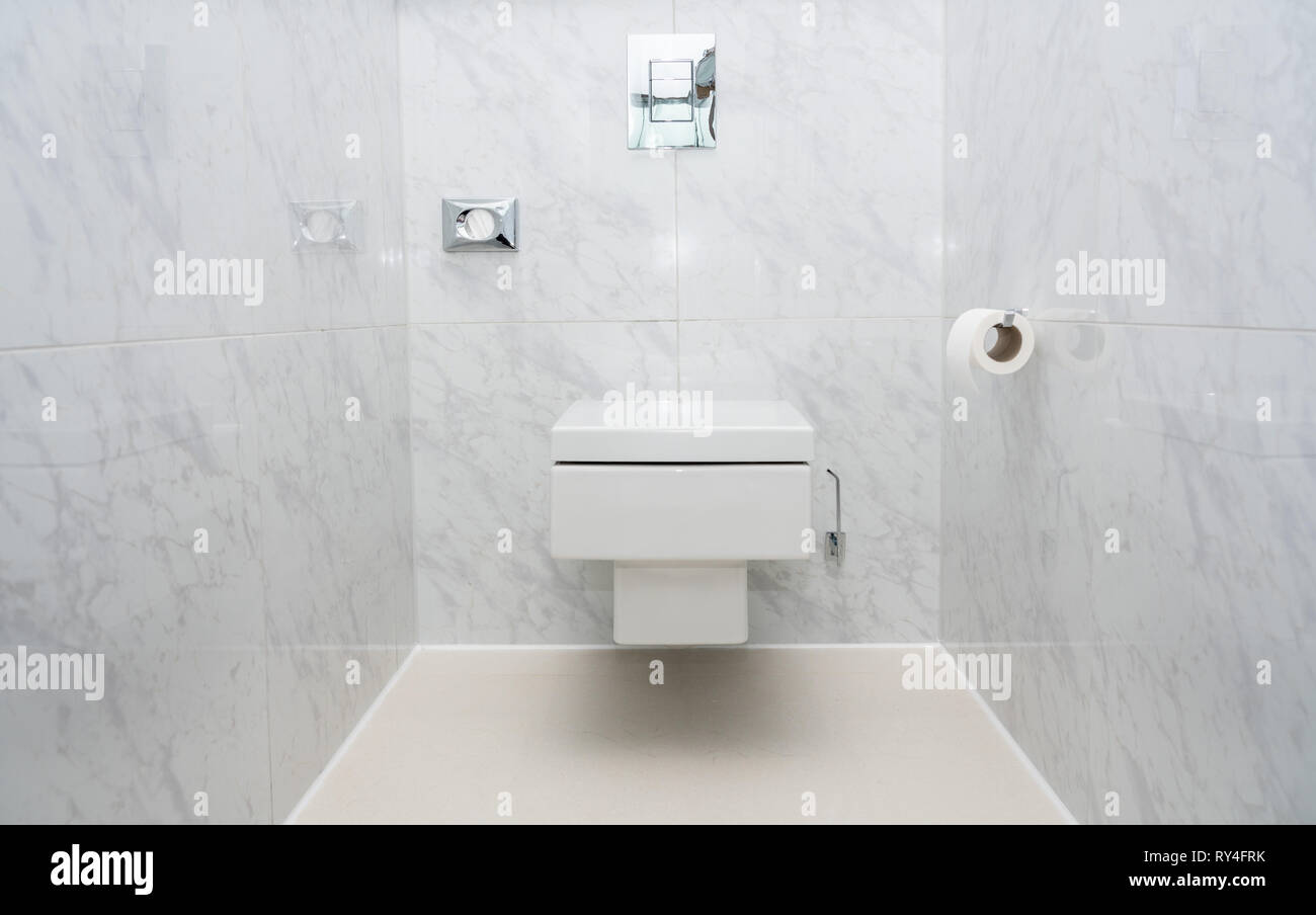 Cuvette Wc Suspendu Carre wc suspendu photos & wc suspendu images - alamy