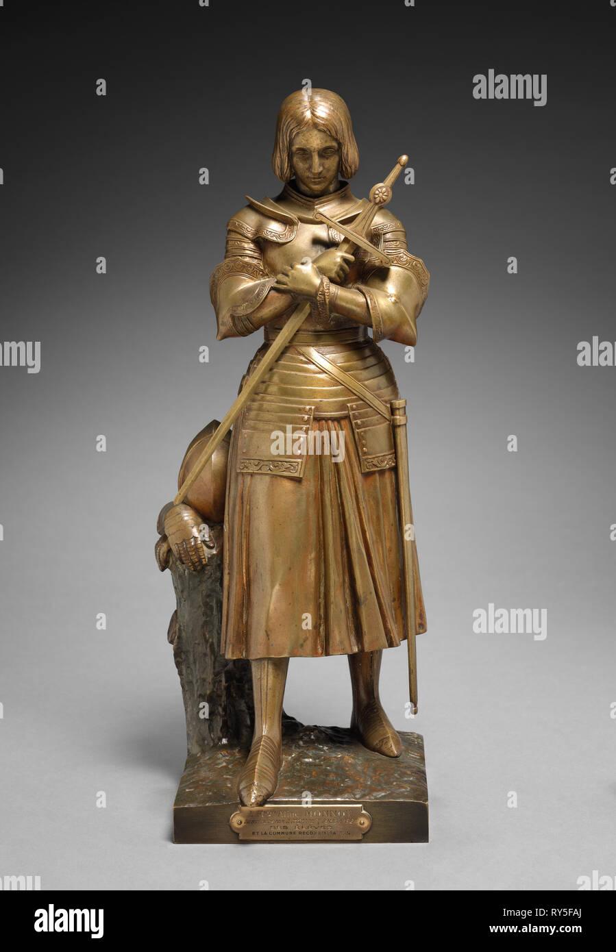 Statuette Jeanne D/'Arc Au Krönung