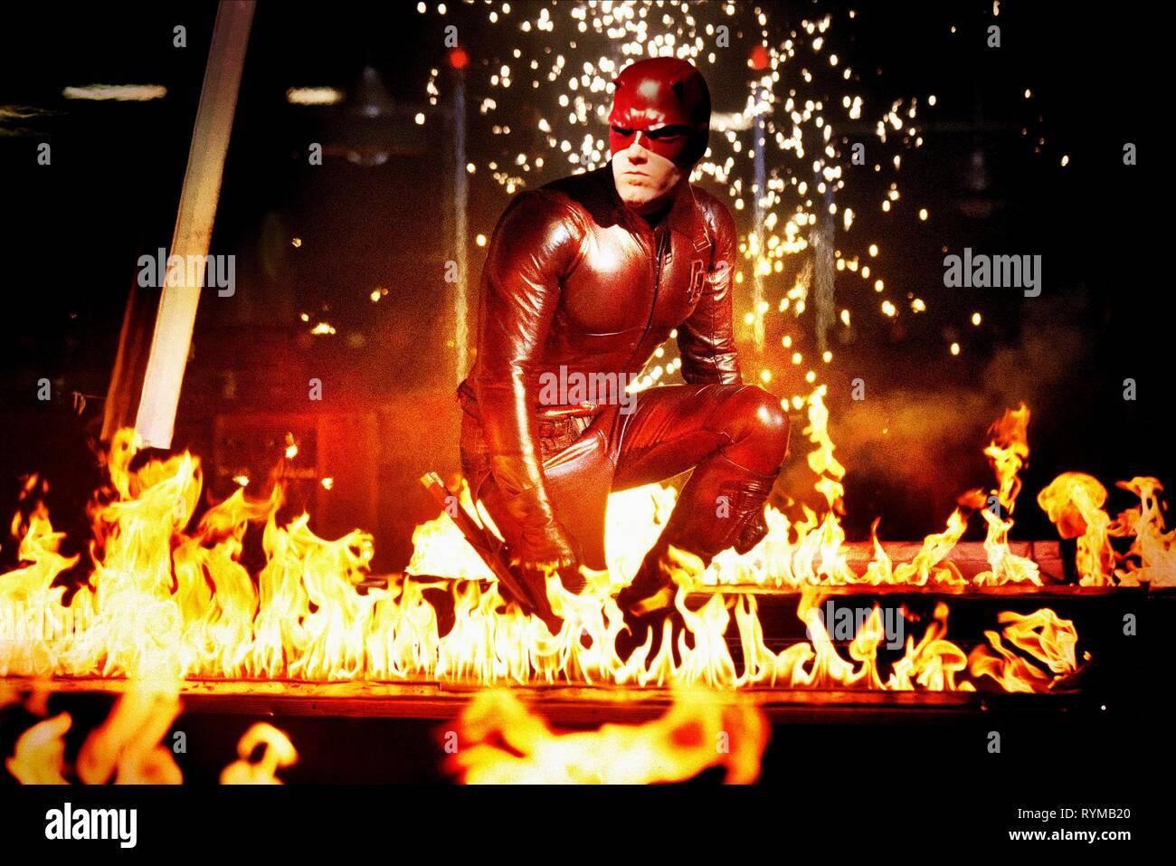 BEN AFFLECK, Daredevil, 2003 Photo Stock