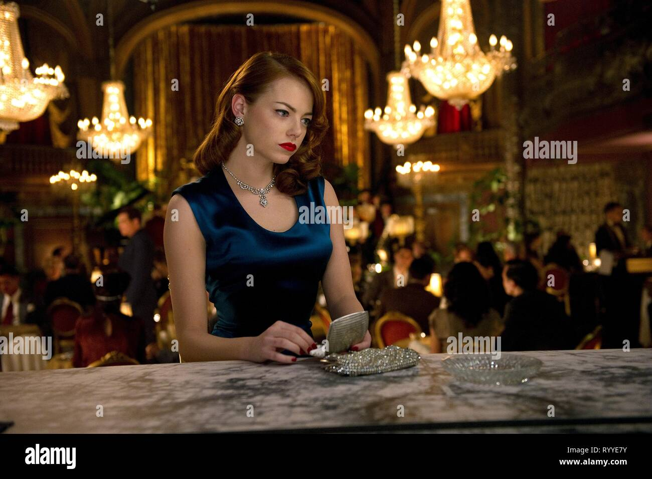 EMMA STONE, GANGSTER SQUAD, 2013 Photo Stock