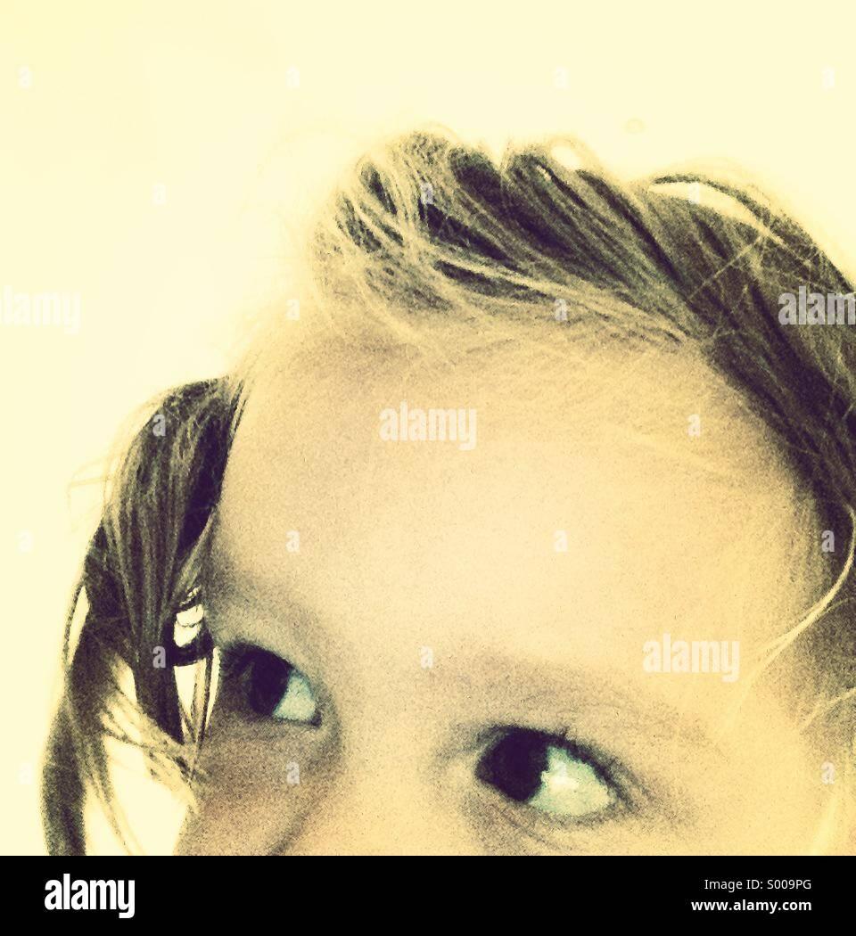 Peek a boo Photo Stock