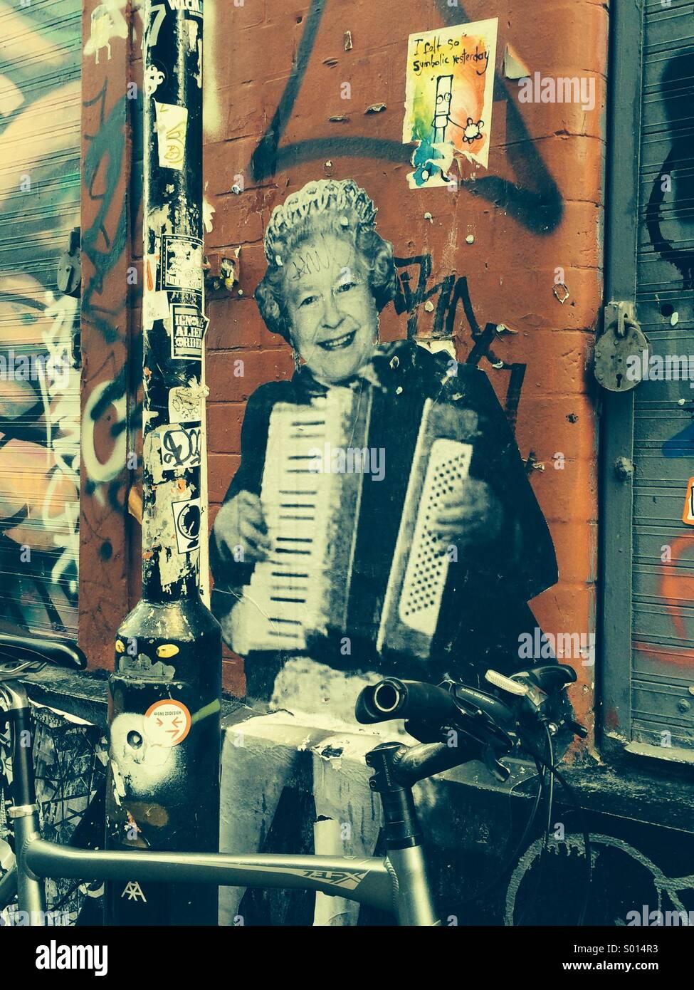 Street Art majestueux Photo Stock