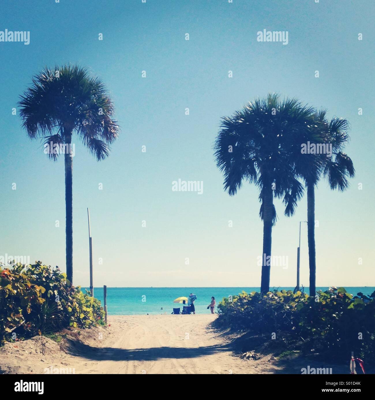 Miami beach Photo Stock