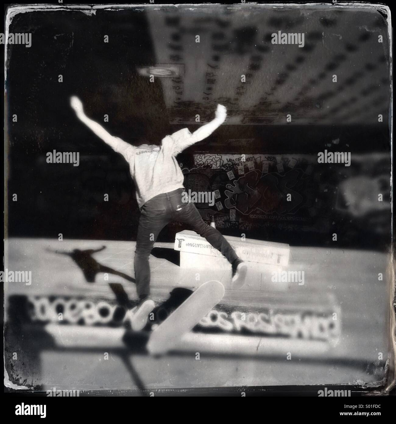 Skateur Photo Stock