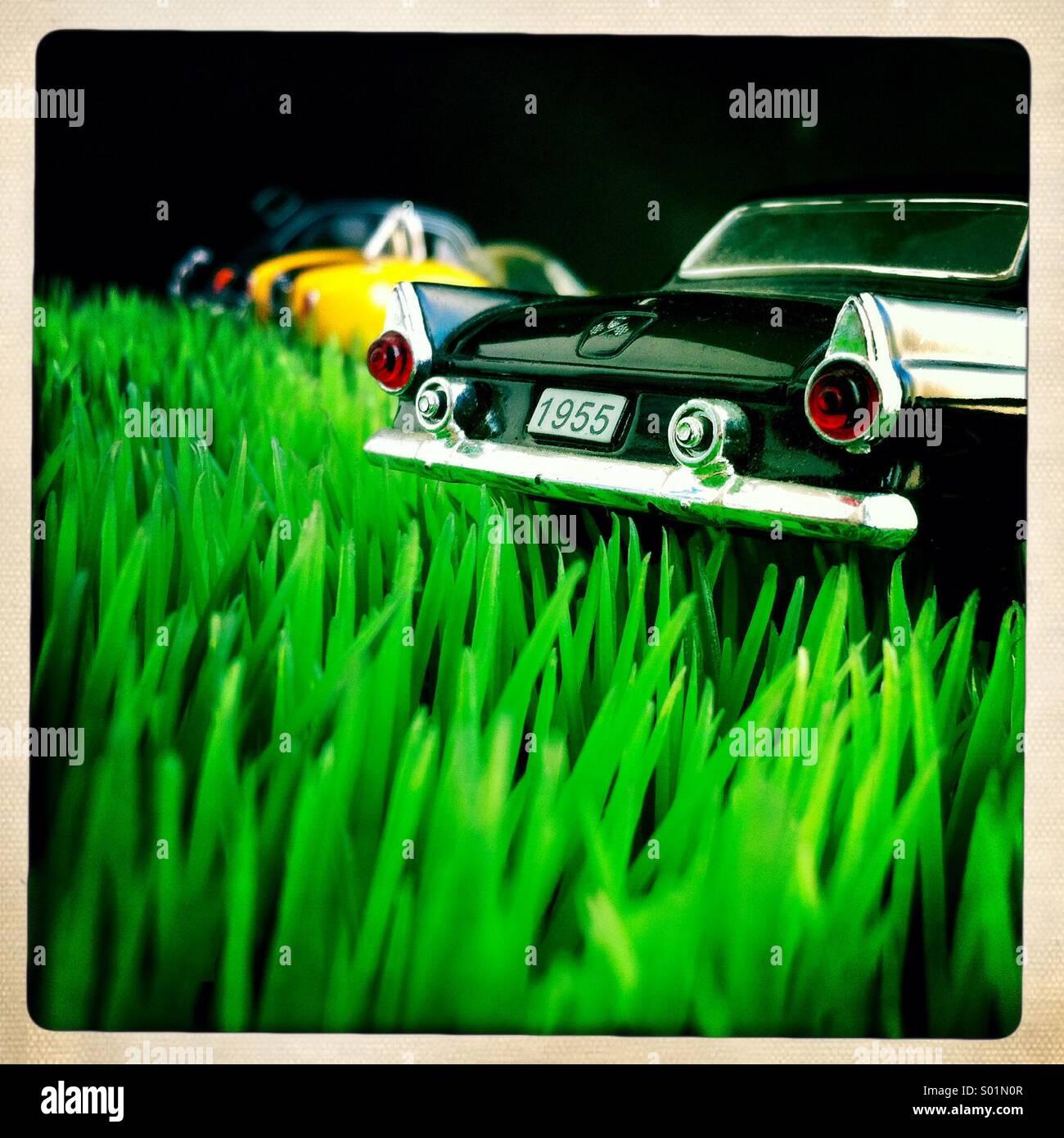 Classique voiture américaine Photo Stock