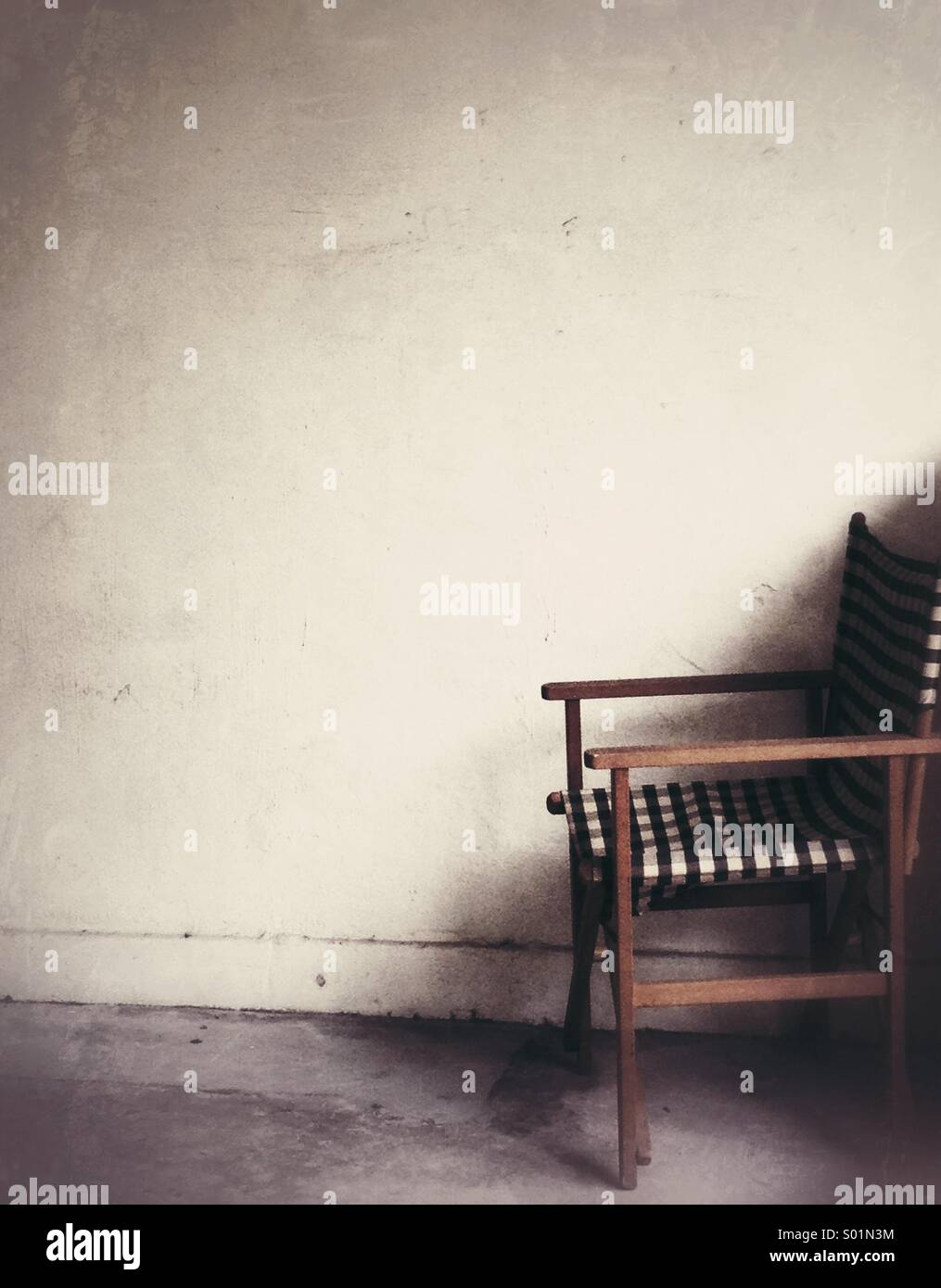 Chaise solitaire Photo Stock