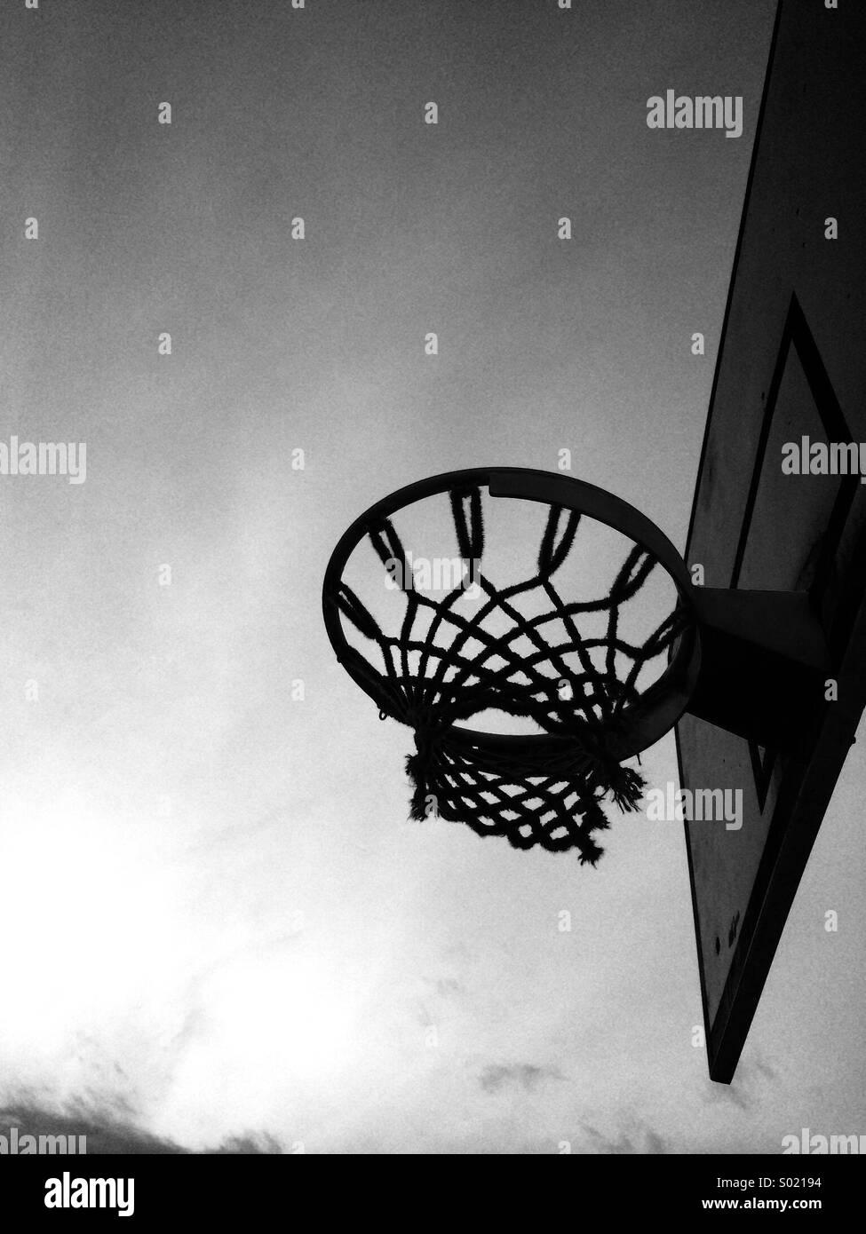 Basket-ball Photo Stock
