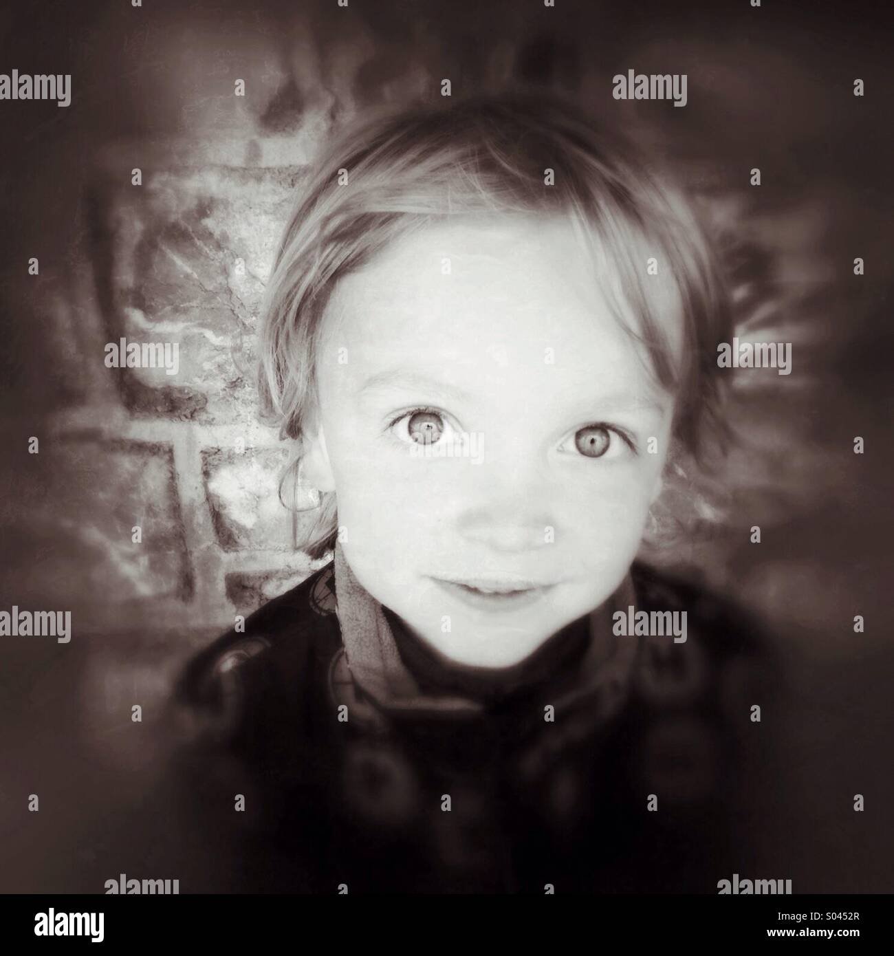 Portrait of a Boy Photo Stock