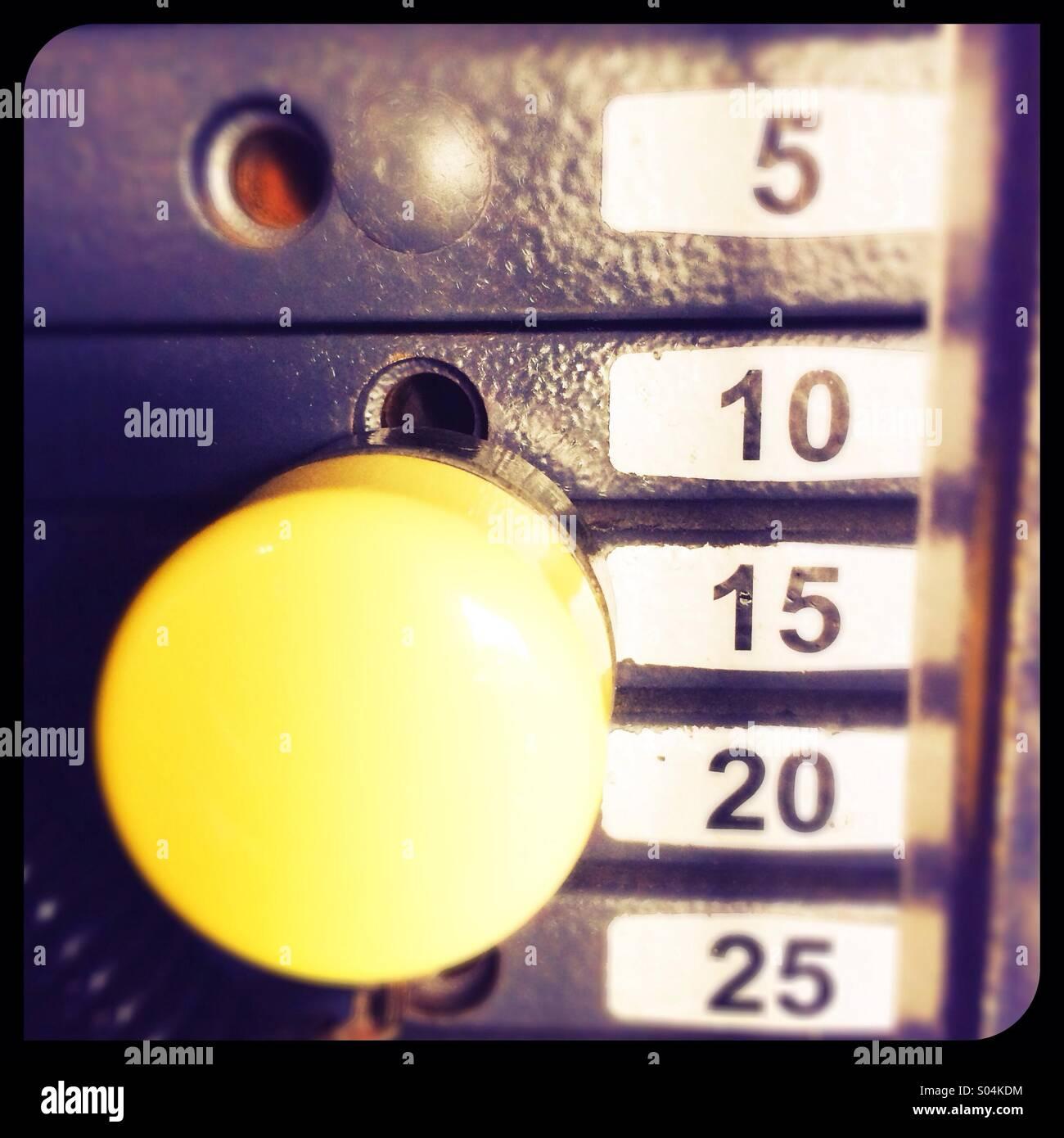 Poids de la machine d'exercice Photo Stock