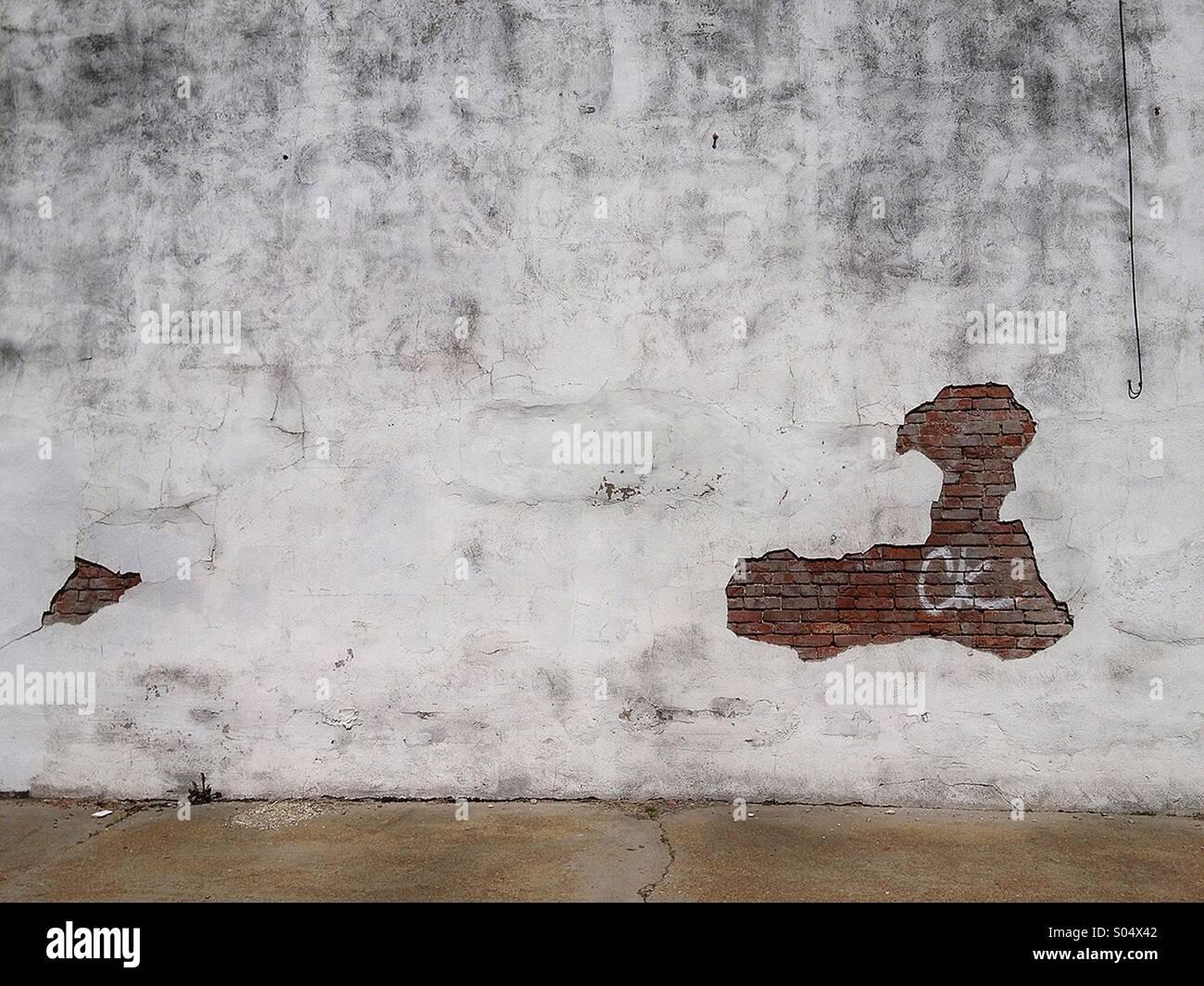 Scène de rue en milieu urbain Photo Stock