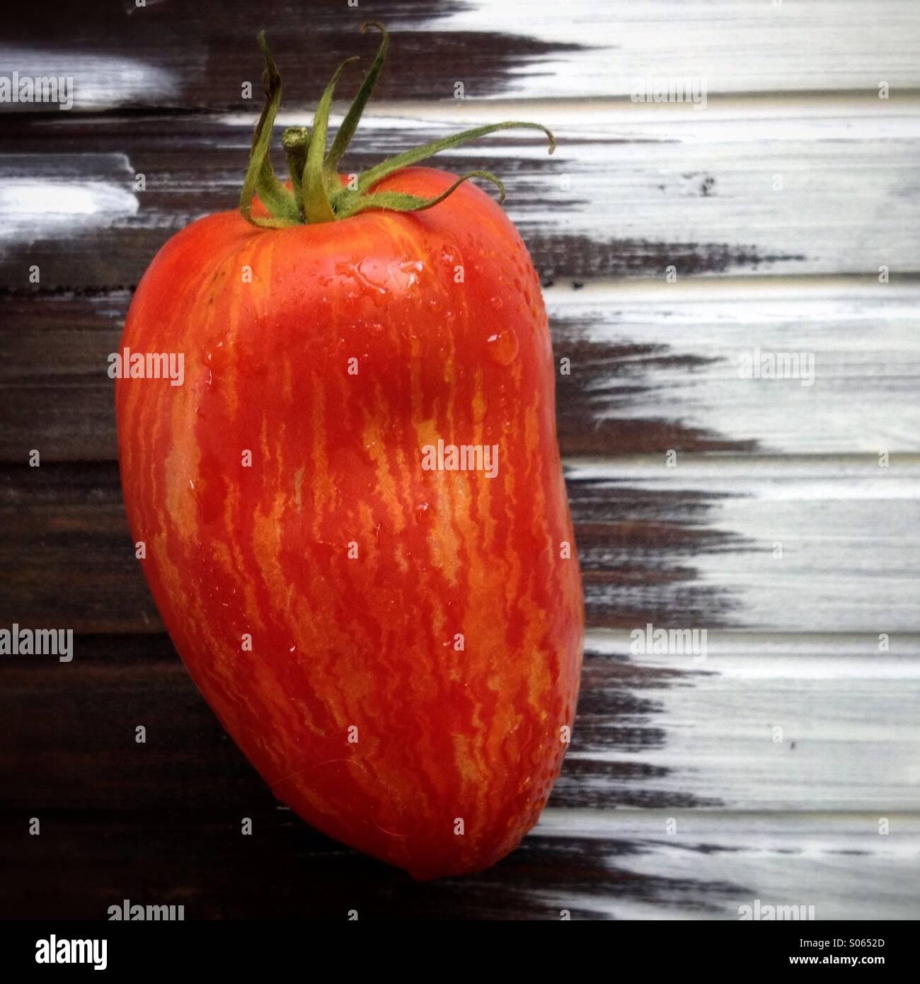 Le bar d'heirloom tomato Photo Stock