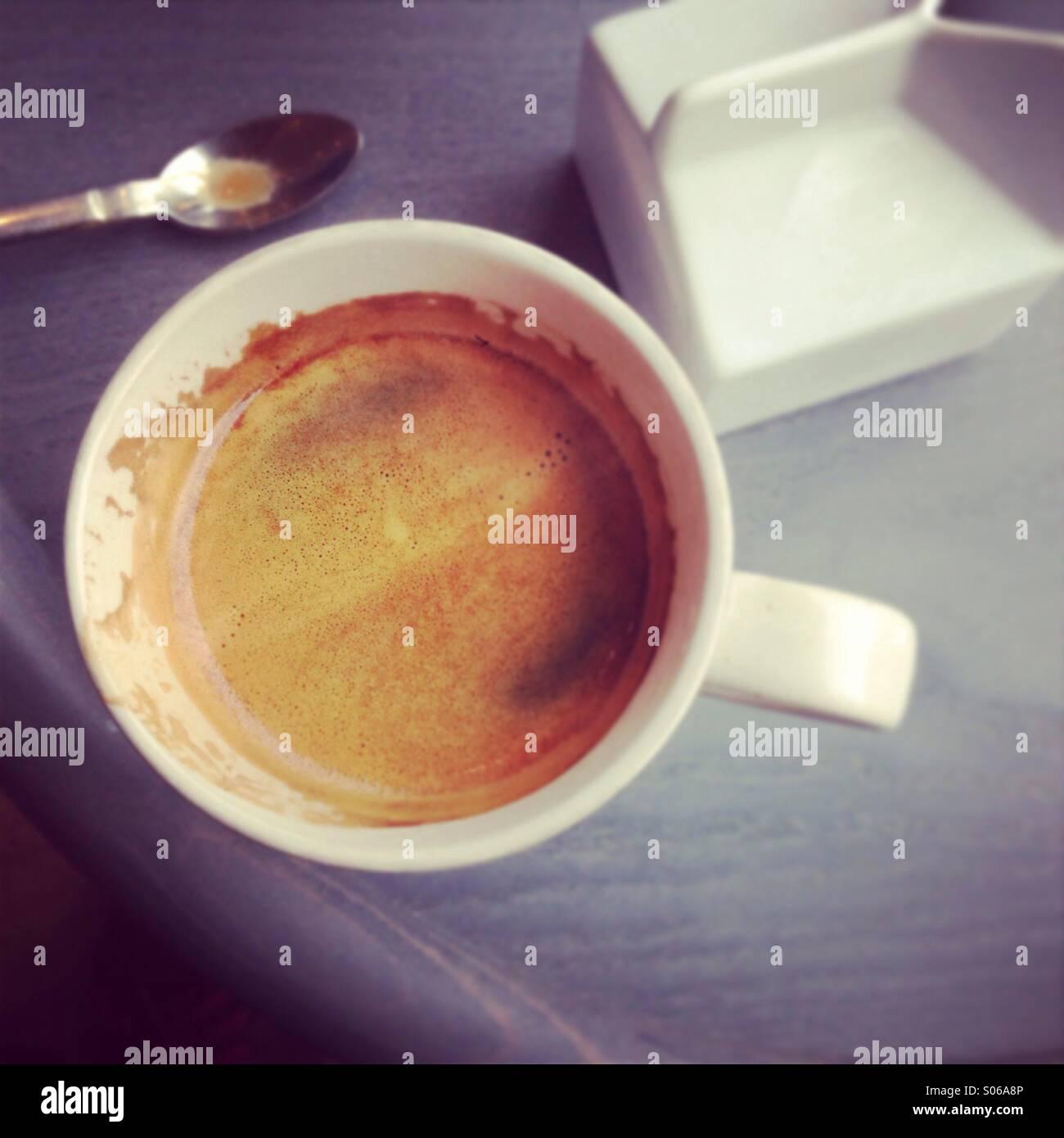 Café du matin Photo Stock
