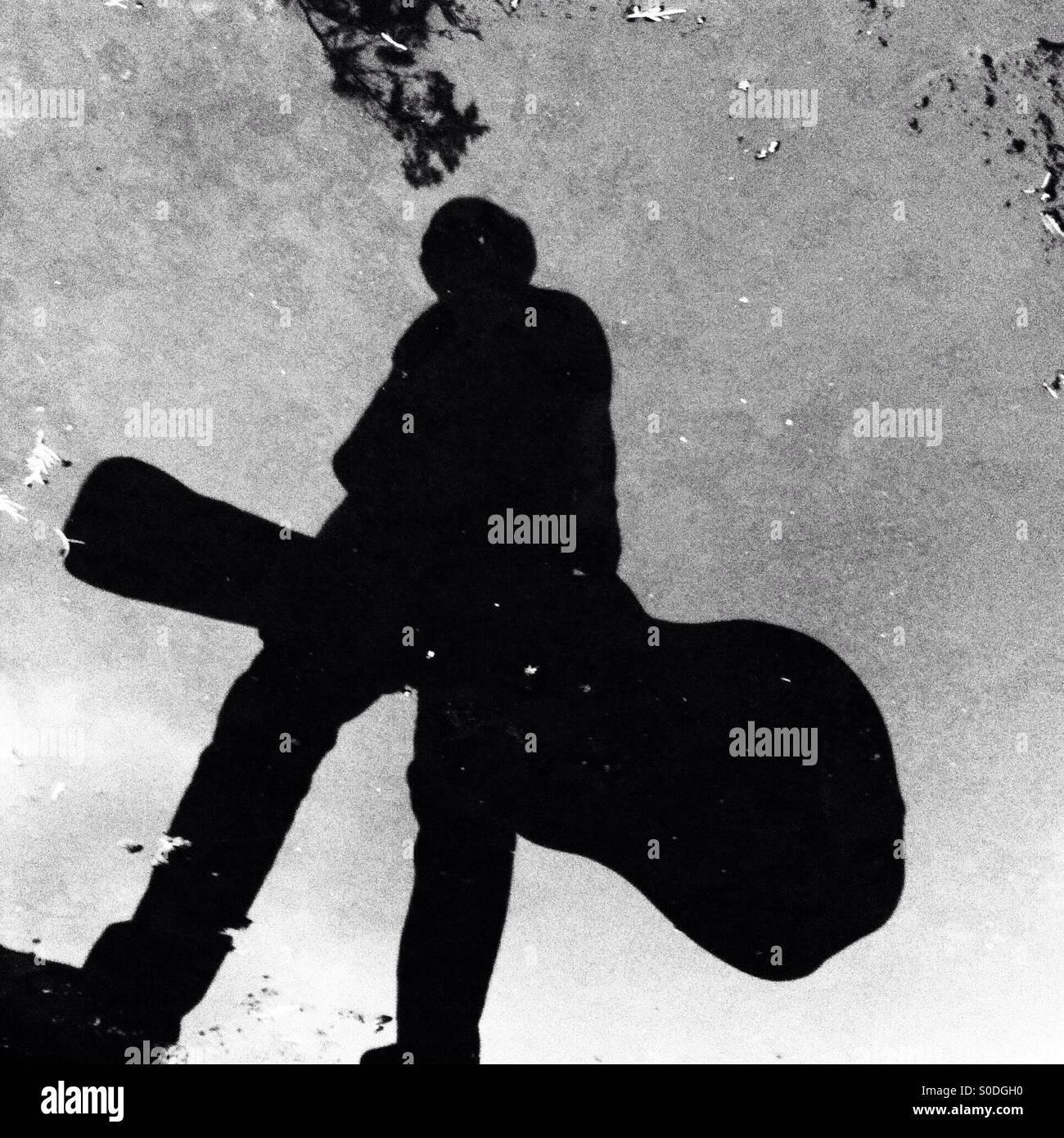 La musique dans ma vie Photo Stock