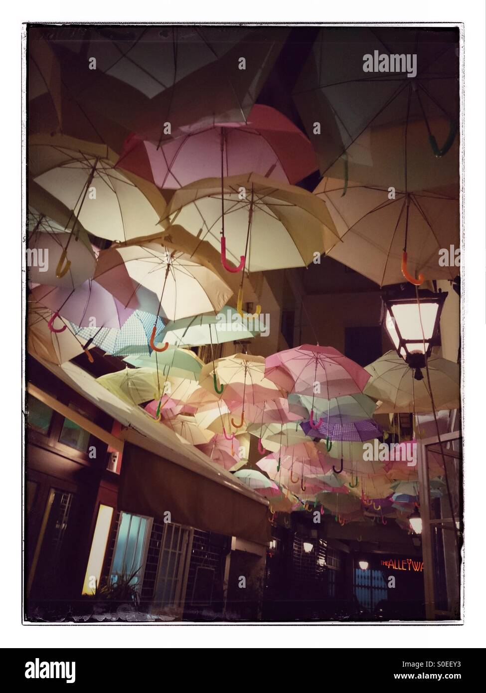 Parapluies Beyrouth Photo Stock