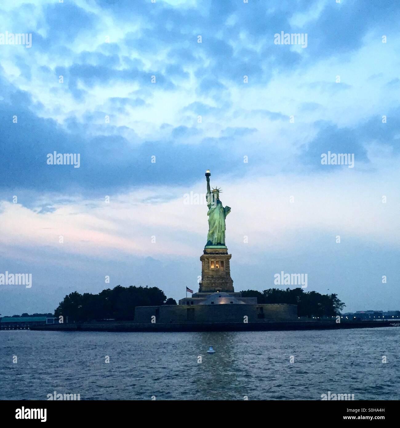 Lady Liberty / Statue de la Liberté Photo Stock