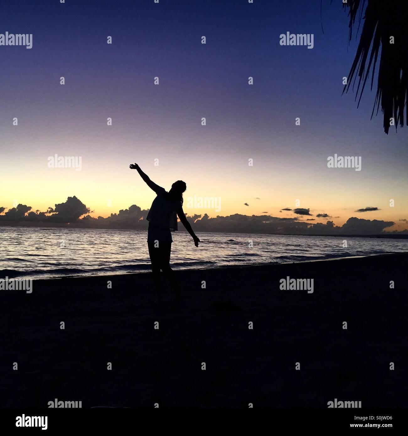 Mode de vie dominicaine Photo Stock