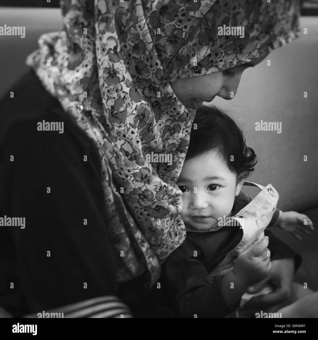 Baby girl Photo Stock