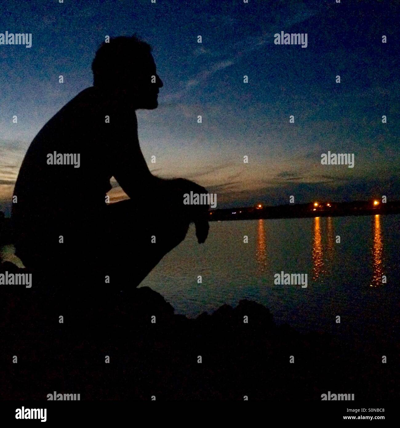Contemplation Photo Stock