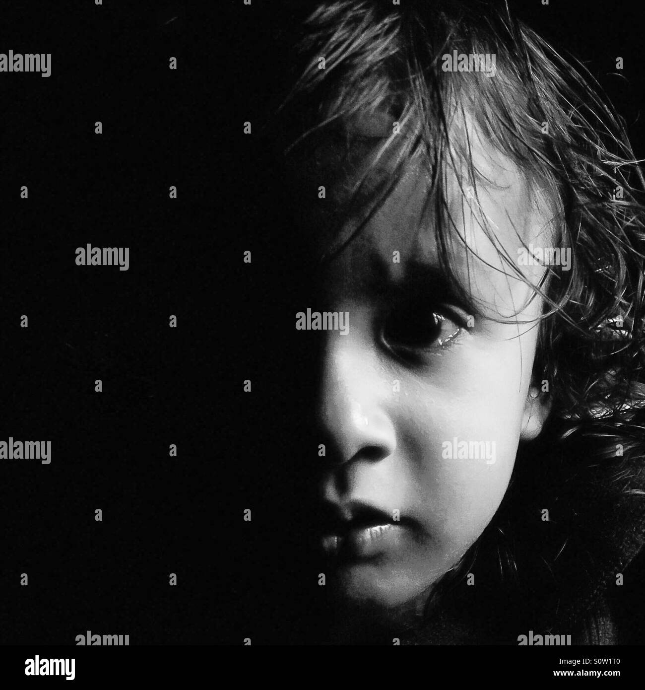 Sauver l'enfance Photo Stock