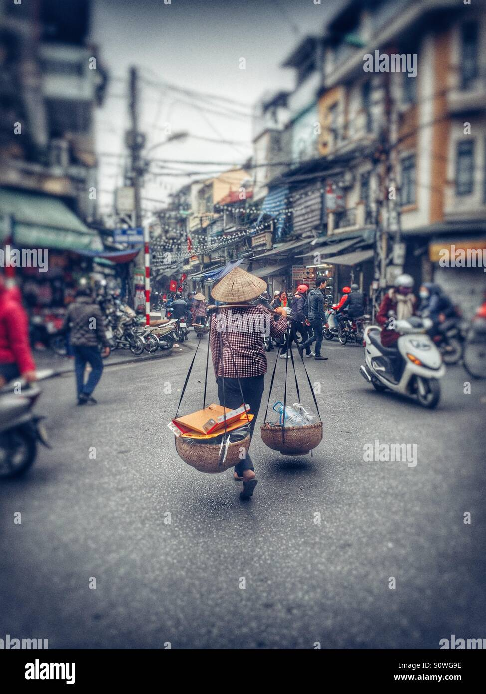 Rue du Vietnam Photo Stock